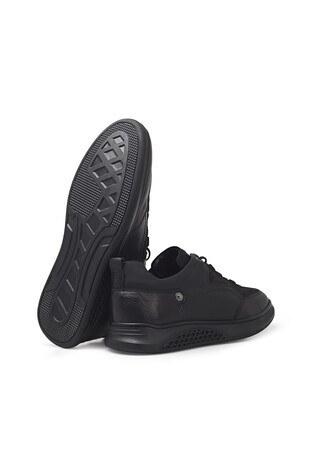 Marcomen Bağcıklı Deri Erkek Ayakkabı 15212373 SİYAH