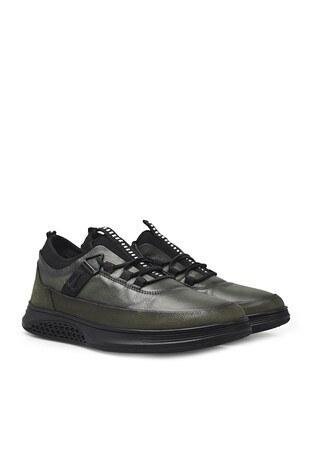 Marcomen Bağcıklı Deri Erkek Ayakkabı 15212580 HAKİ