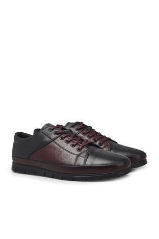 Marcomen Bağcıklı Deri Erkek Ayakkabı 1524517 BORDO-LACİVERT