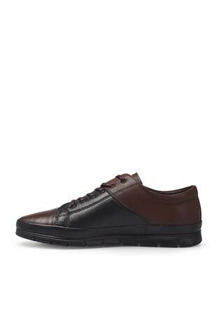 Marcomen Bağcıklı Deri Erkek Ayakkabı 1524517 SİYAH-KAHVE