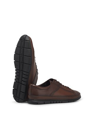 Marcomen Bağcıklı Deri Erkek Ayakkabı 1524517 TABA