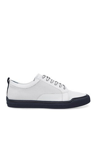 Marcomen Casual Deri Erkek Ayakkabı 15213017 BEYAZ