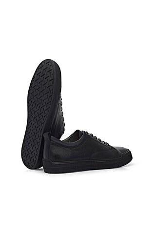 Marcomen Casual Deri Erkek Ayakkabı 15213017 SİYAH