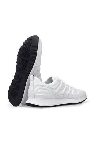 Marcomen Casual Deri Erkek Ayakkabı 15213187 BEYAZ