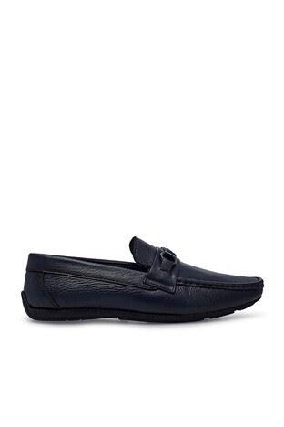 Marcomen - Marcomen Casual Deri Erkek Ayakkabı 15213189 LACİVERT