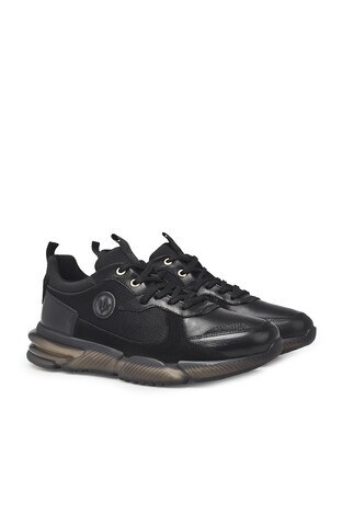 Marcomen Deri Casual Erkek Ayakkabı 15212419 SİYAH