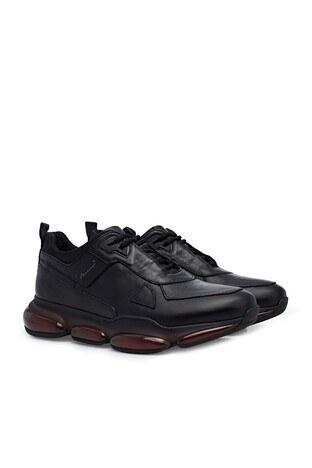 Marcomen Deri Casual Erkek Ayakkabı 15213075 SİYAH