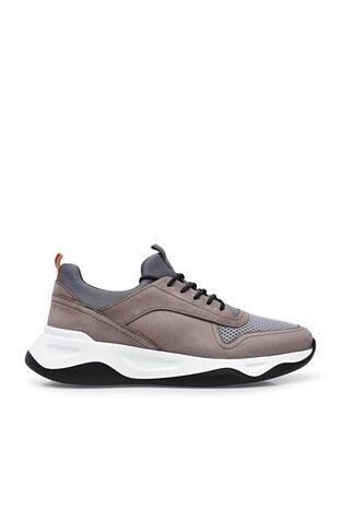 Marcomen Deri Casual Erkek Ayakkabı 15213115 GRİ