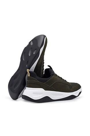 Marcomen Deri Casual Erkek Ayakkabı 15213115 HAKİ