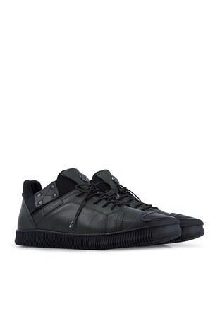 Marcomen Deri Erkek Ayakkabı 15203313 HAKİ-SİYAH