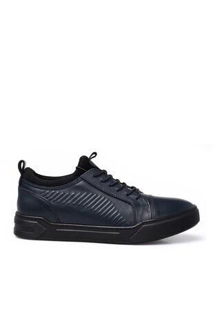 Marcomen - Marcomen Deri Erkek Ayakkabı 15210013 LACİVERT