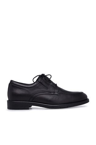 Marcomen - Marcomen Deri Erkek Ayakkabı 15210109 SİYAH