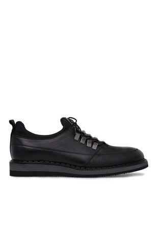 Marcomen - Marcomen Deri Erkek Ayakkabı 15210281 SİYAH