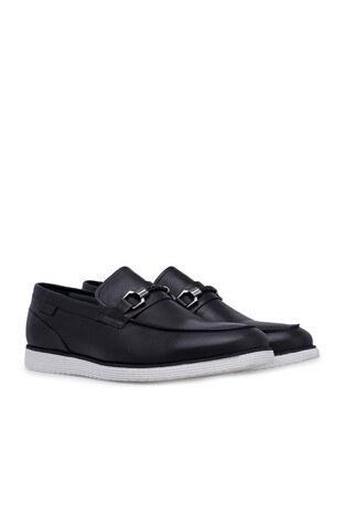 Marcomen Deri Erkek Ayakkabı 15211044 SİYAH
