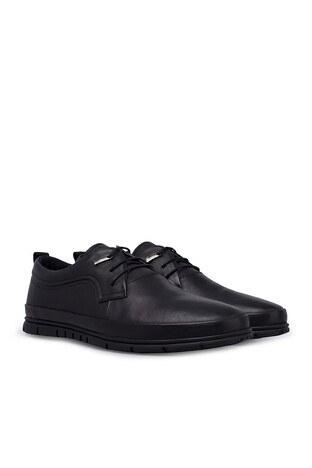 Marcomen Deri Erkek Ayakkabı 15211047 SİYAH
