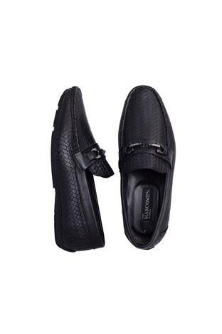Marcomen Deri Erkek Ayakkabı 15211282 SİYAH