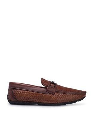 Marcomen - Marcomen Deri Erkek Ayakkabı 15211282 TABA