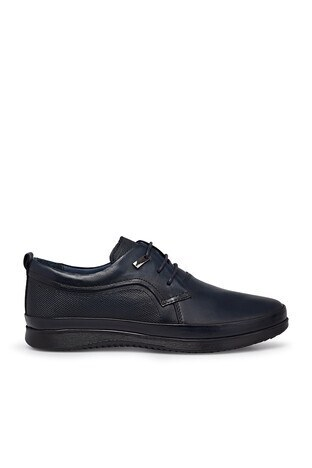 Marcomen - Marcomen Deri Erkek Ayakkabı 15213107 LACİVERT