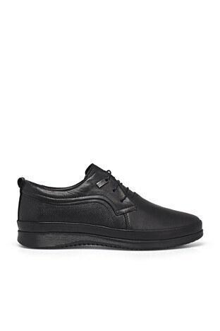 Marcomen - Marcomen Deri Erkek Ayakkabı 15213107 SİYAH
