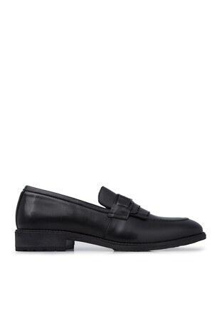 Marcomen - Marcomen Deri Klasik Erkek Ayakkabı 15210151 SİYAH
