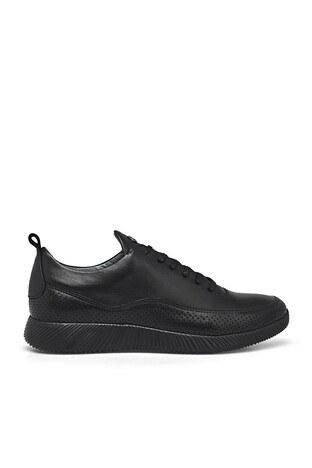 Marcomen - Marcomen Deri Erkek Ayakkabı 15202506 SİYAH