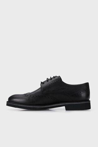 Marcomen Hakiki Deri Klasik Erkek Ayakkabı 15212360 SİYAH