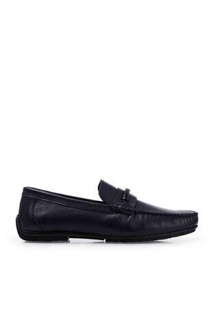 Marcomen - Marcomen Deri Erkek Ayakkabı 1525231 LACİVERT