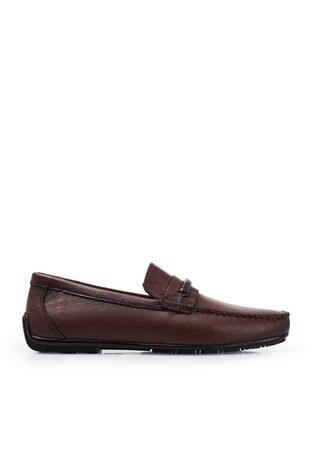 Marcomen - Marcomen Deri Erkek Ayakkabı 1525231 TABA