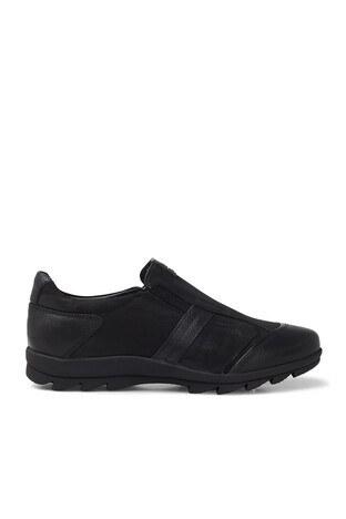 Marcomen - Marcomen Hakiki Deri Erkek Ayakkabı 15203270 SİYAH