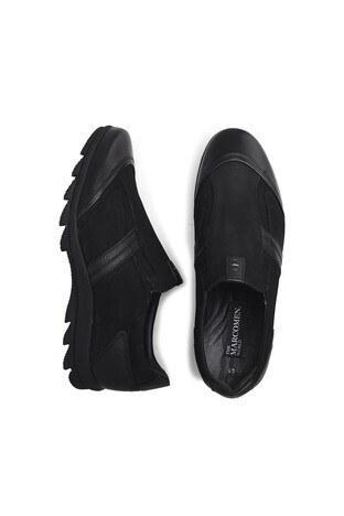 Marcomen Hakiki Deri Erkek Ayakkabı 15203270 SİYAH