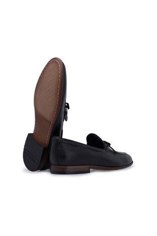 Marcomen Hakiki Deri Erkek Ayakkabı 15206041 SİYAH