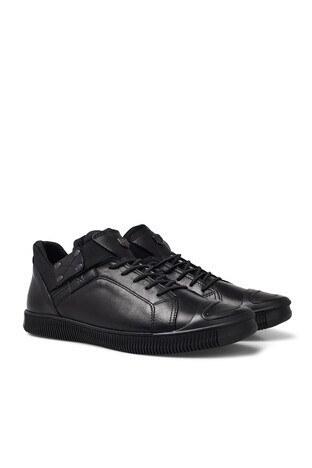 Marcomen Hakiki Deri Erkek Ayakkabı 15212252 SİYAH