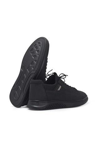 Marcomen Hakiki Deri Erkek Ayakkabı 15212293 SİYAH