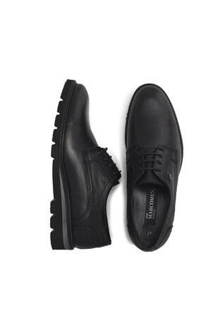 Marcomen Hakiki Deri Erkek Ayakkabı 15212385 SİYAH