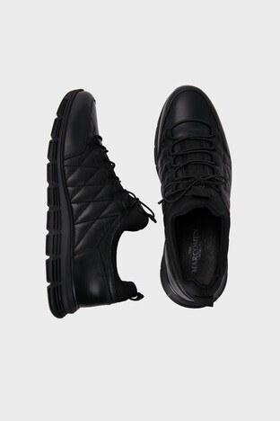 Marcomen Hakiki Deri Erkek Ayakkabı 15214075 SİYAH