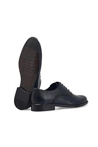 Marcomen Hakiki Deri Klasik Erkek Ayakkabı 1535266 LACİVERT