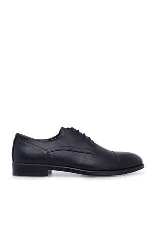 Marcomen - Marcomen Klasik Deri Erkek Ayakkabı 1535023 SİYAH