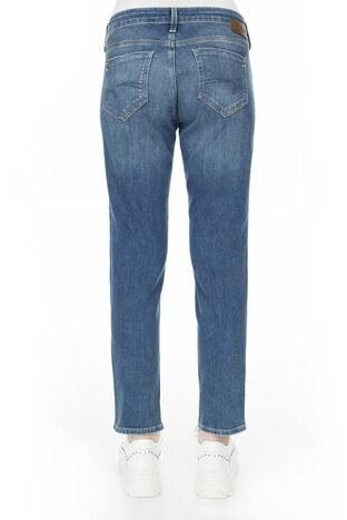 Mavi Boyfriend Dar Paça Ada Jeans Bayan Kot Pantolon 1020530403 MAVİ