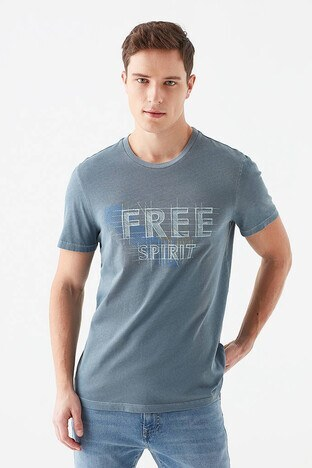 Mavi Erkek T Shirt 066616-33510 MAVİ