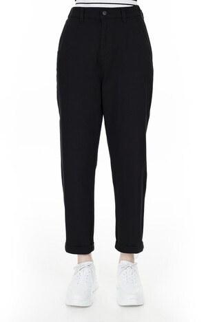 Mavi Beli Lastikli Kadın Pantolon 101096-900 SİYAH