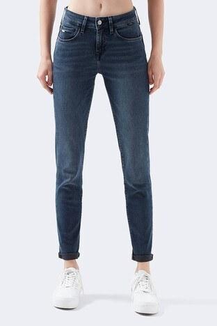Mavi - Mavi Boyfriend Pamuklu Ada Jeans Bayan Kot Pantolon 1020531924 LACİVERT