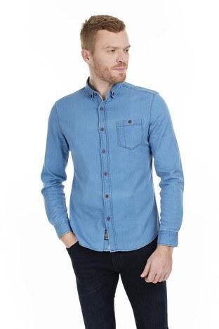 Mavi - Mavi Erkek Gömlek 020230-10242 AÇIK İNDİGO