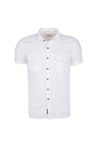 MAVİ Erkek Gömlek 020321 620 BEYAZ