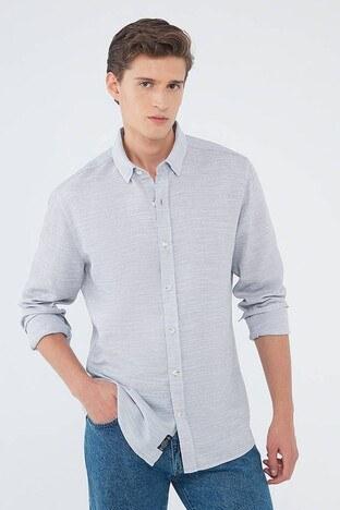 Mavi - Mavi Erkek Gömlek 020579-34330 AÇIK GRİ