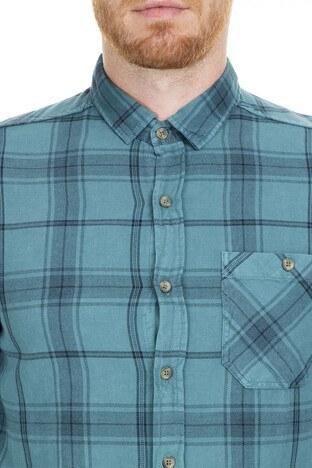 Mavi Erkek Gömlek 021344-29843 YEŞİL