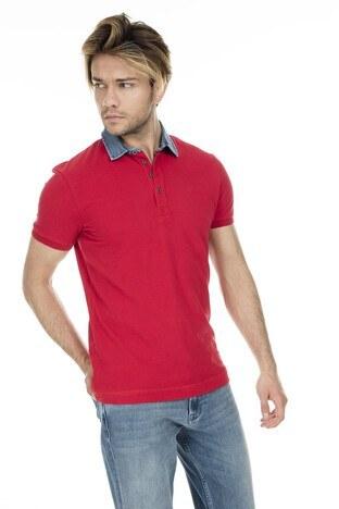 Mavi - Mavi Erkek T Shirt 062685-28441 KIRMIZI