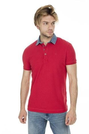 Mavi Erkek T Shirt 062685-28441 KIRMIZI