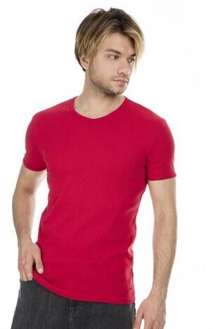 Mavi - Mavi Erkek T Shirt 063748-28441 KIRMIZI