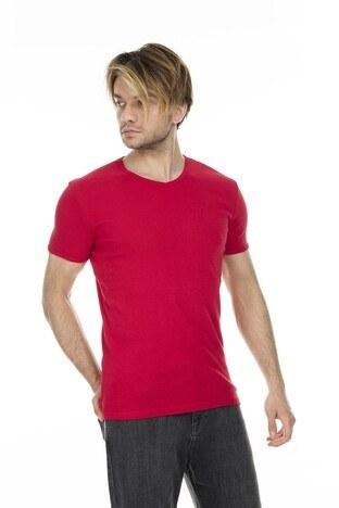 Mavi Erkek T Shirt 063748-28441 KIRMIZI