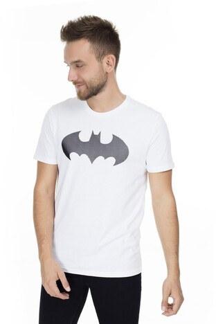 Mavi Batman Baskılı Erkek T Shirt 065221620 BEYAZ